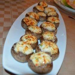 Crab Stuffed Mushrooms Allrecipes.com