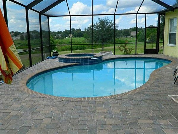 Inground swimming pools images swimming pool photos for Pool design tampa
