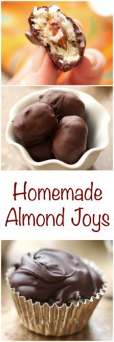Homemade Almond Joys taste better than any store-bought candy!
