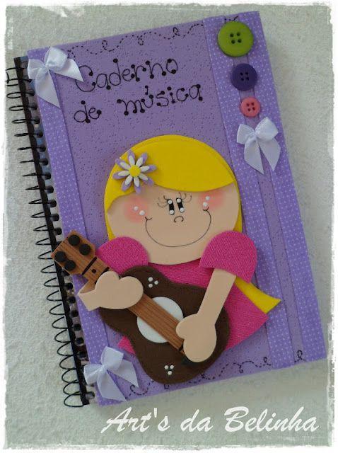 Art's da Belinha: Caderninhos