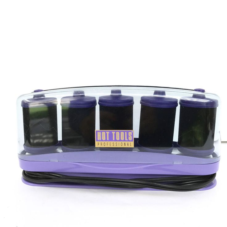 Hot Tools Professional Classic Foam Rollers Hot Curlers Purple 240/120V #HotToolsProfessional