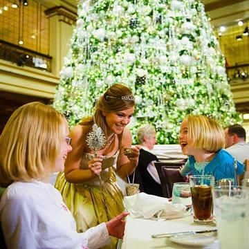 Christmas traditions at The Walnut Room, Macy's State Street.