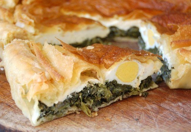 Torta Pasqualina, A Ligurian Easter Savoury Pie