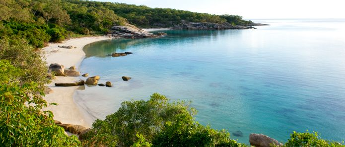 Lizard Island in the Great Barrier Reef, Australia (Honeymoon)