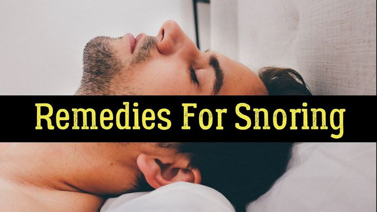 10 Home Remedies For Snoring In Adults That Work