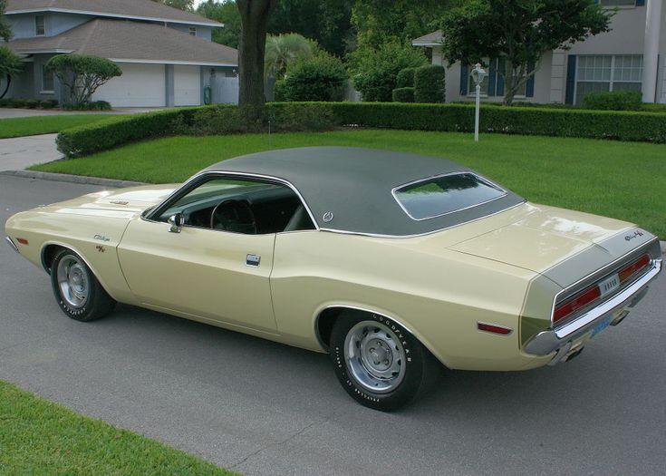1970 Dodge Challenger R T Se With Rare V9f Green Stripe On