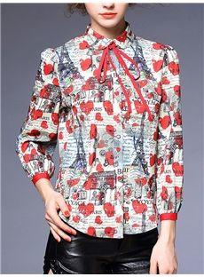 おしゃれレディースシャツ高級品質シャツセレブ真似ブラウス可愛いトップス