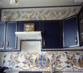Орнамент из мозаики