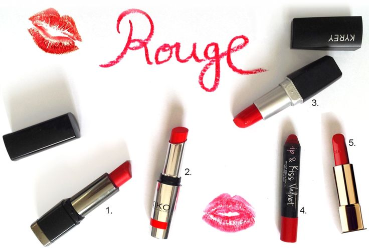 Lipstick selection one the blog !  #red #lip #lips #lipstick #makeup #beauty #beautyaddict #maquillage #rougeàlèvres #rouge #pretty #girl #fashion #style #look #kiko #chanel #selection #revue #test
