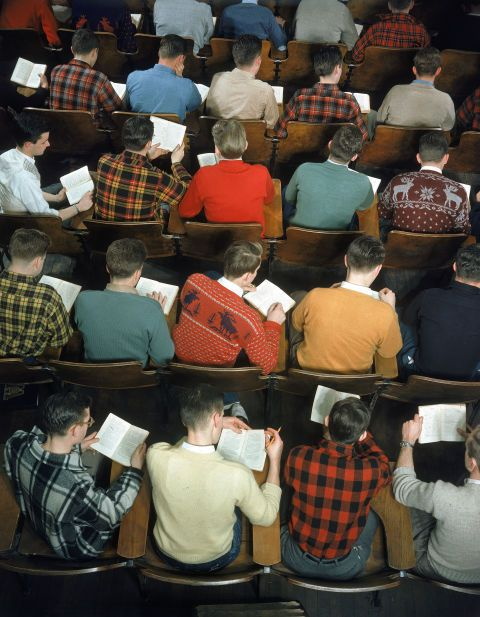 A look back at how American college students used to dress
