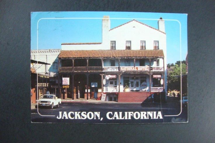 The 1862 National Hotel Restaurant Cocktails Tavern in Jackson California | eBay