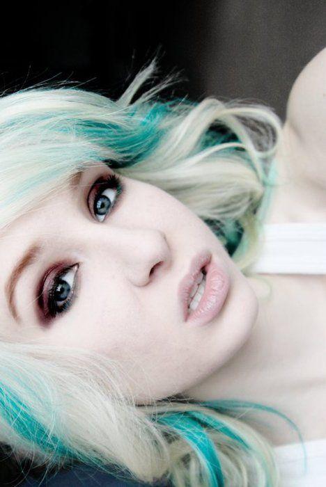 25 Best Ideas About Green Hair Streaks On Pinterest