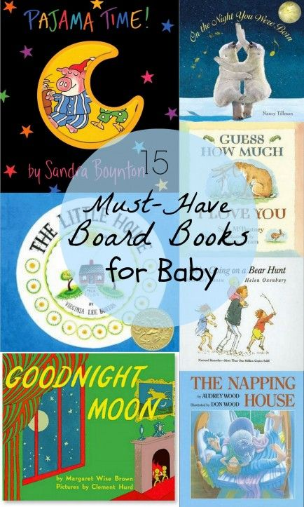 Books for Baby Jacque!  Just reading the list made me sentimental and happy. 15 Must-Read Board Books for Baby