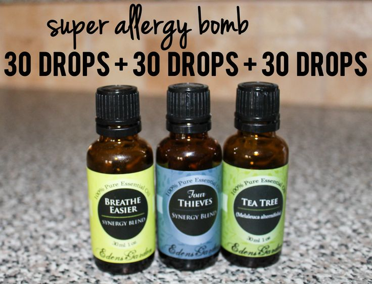 super allergy bomb // essential oils for cold, cough, runny nose, allergies