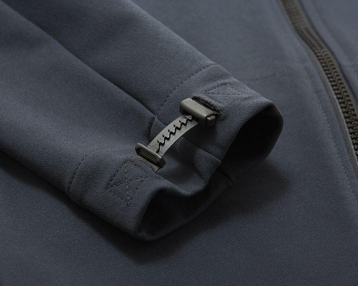 Outlier - Heavyweight Freeshell (flat, cuff detail)