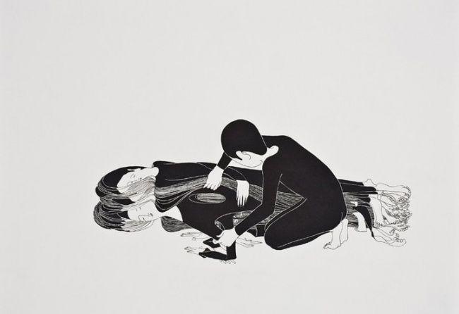 Estas ilustraciones muestran emociones que aveces nopodemos expresar con palabras