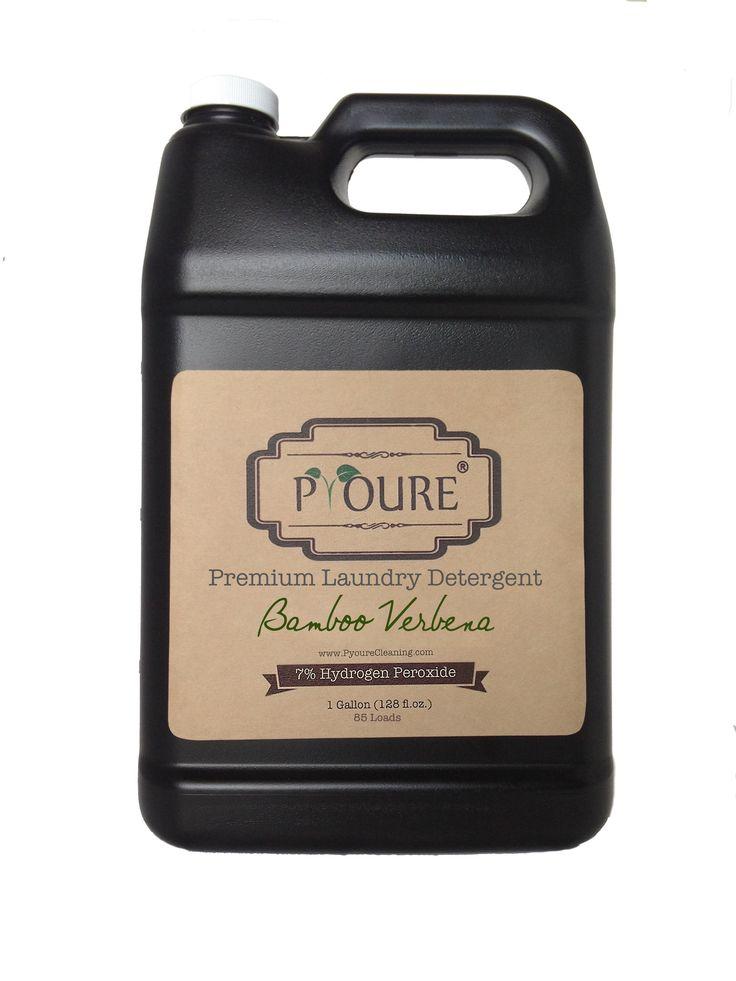 7% Hydrogen Peroxide Premium Laundry Detergent - 85 Loads  #aromatherapy #cleaningtips #ilovepyoure #greencleaning #springcleaning #nontoxiccleaning #cleaningtime #cleanhouse #hydrogenperoxide #neatfreak Awesome Hydrogen Peroxide Cleaners and More!