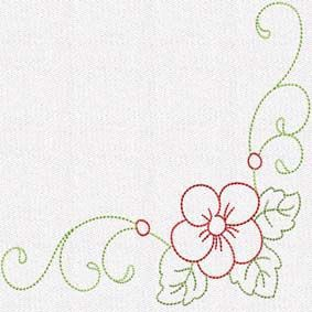 flower decor 4 set of 10