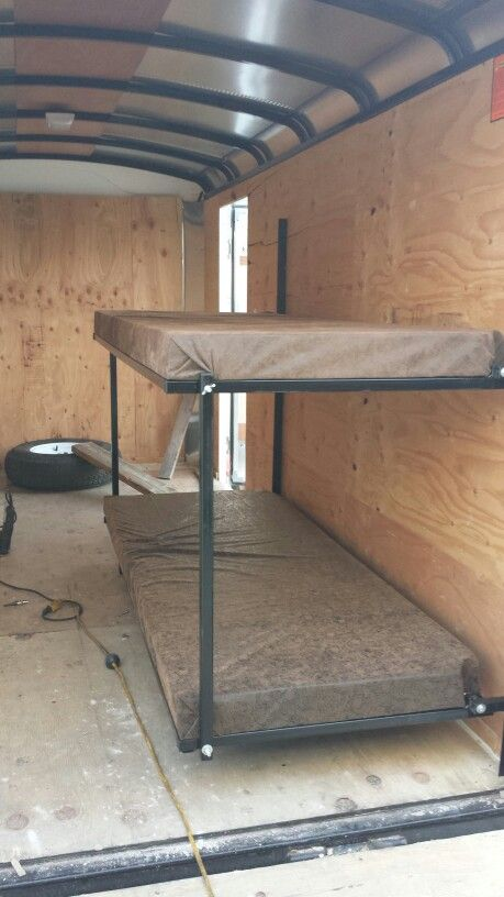 Rv Fold Up Bunks Camping Bedding Cargo Trailer Camper