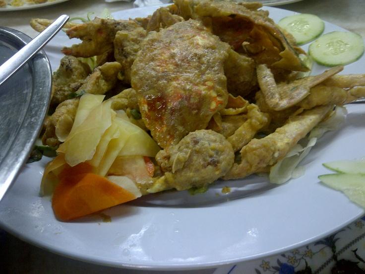 Salted Egg Crab - Sharin Low Restaurant, Bukit Antarabangsa