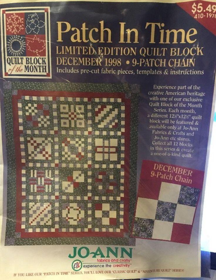 11 best Quilt Kits - Block of the Month images on Pinterest ... : joann fabrics quilt kits - Adamdwight.com