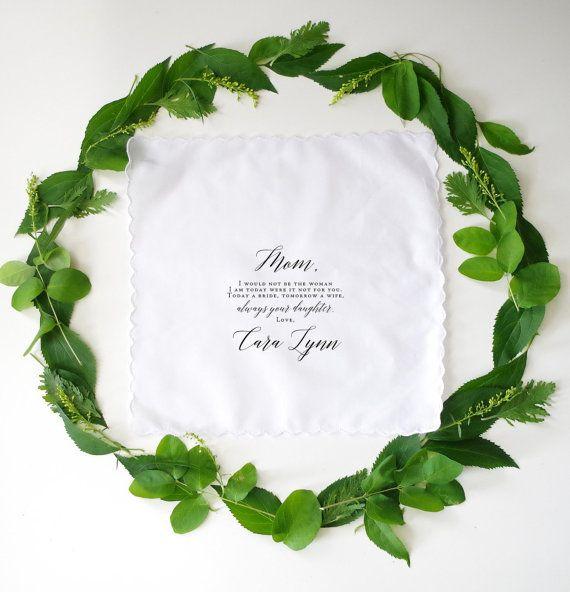 Madre della sposa o la madre del fazzoletto stampato dello sposo, un regalo speciale per il vostro giorno di nozze voi scelta del fazzoletto