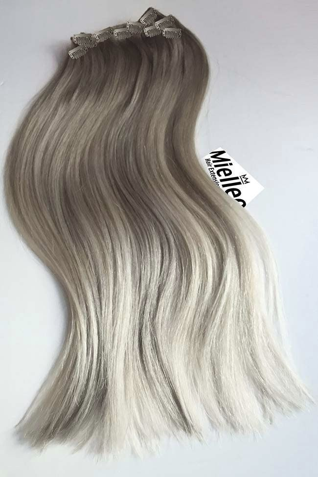 The MEDIUM ASH BLONDE BALAYAGE is blend of wheat blonde roots and frosty blonde…