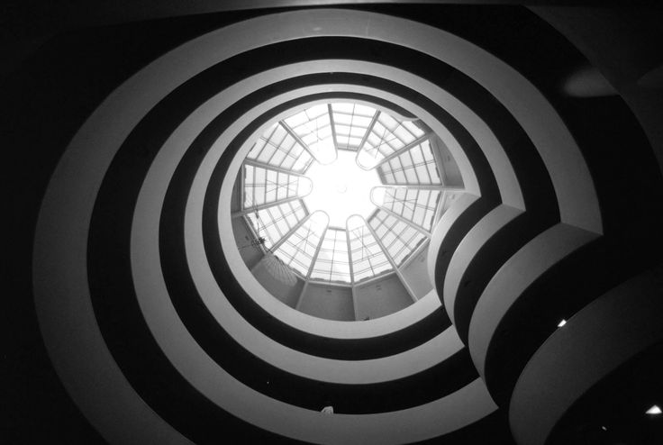Is this nature's creation of a spiral shell? Or a man made structure by Frank Lloyd Wright? - Google Search