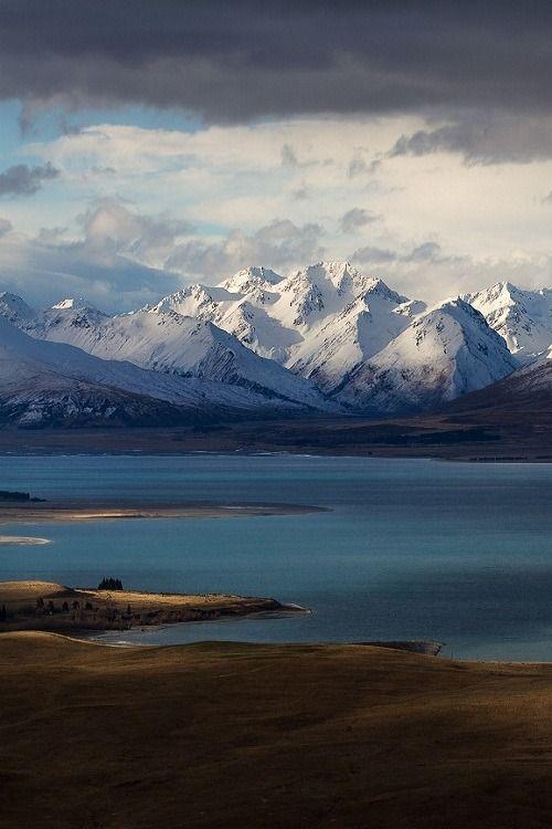 Godly Peaks Road,by Zac Robinson | Lake Tekapo, New Zealand