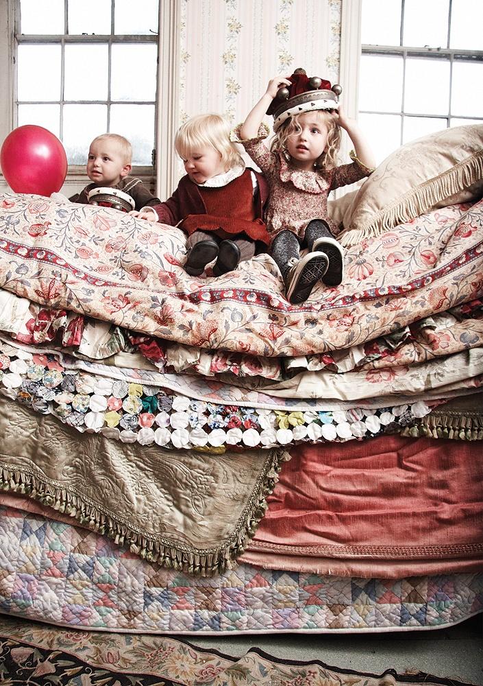 Elfie, kids, sleepy