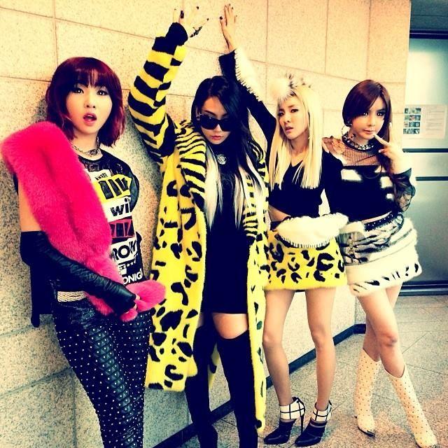 2NE1 Fur Fashion In Winter #fashion #2ne1 | 2NE1 | Pinterest | Winter Fashion Mondays And Fur ...