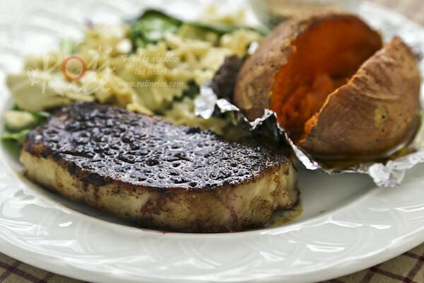 These tender and juicy Pan Roasted Pork Loin Chops are perfect for ...