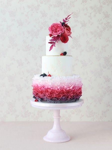 Wedding Cakes London, Surrey and UK | Zoe Clark Cakes
