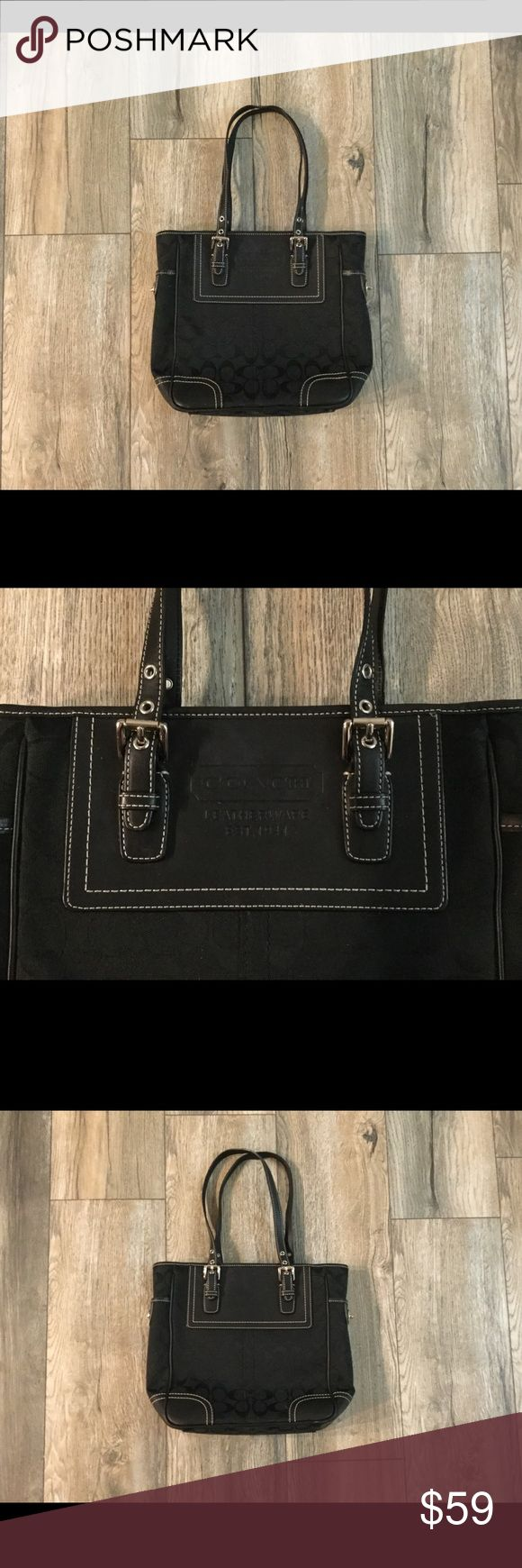 Like New Coach handbag I only used this bag once. It is in like new condition. Coach Bags Shoulder Bags