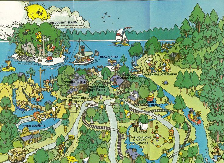 Walt Disney World Resort Fort Wilderness Map Gif 2338