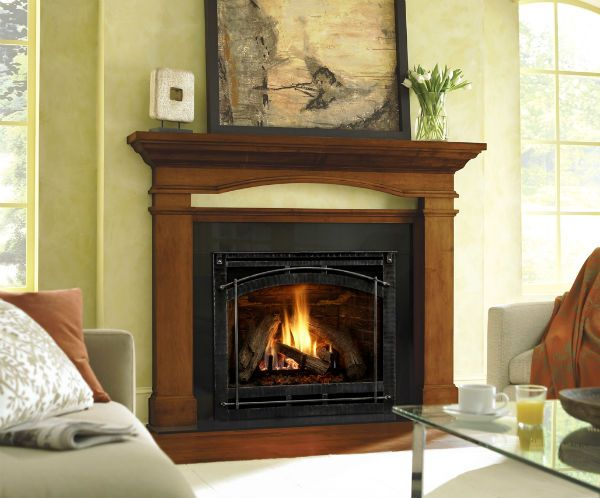214 Best Wood Fireplace Images On Pinterest Electric