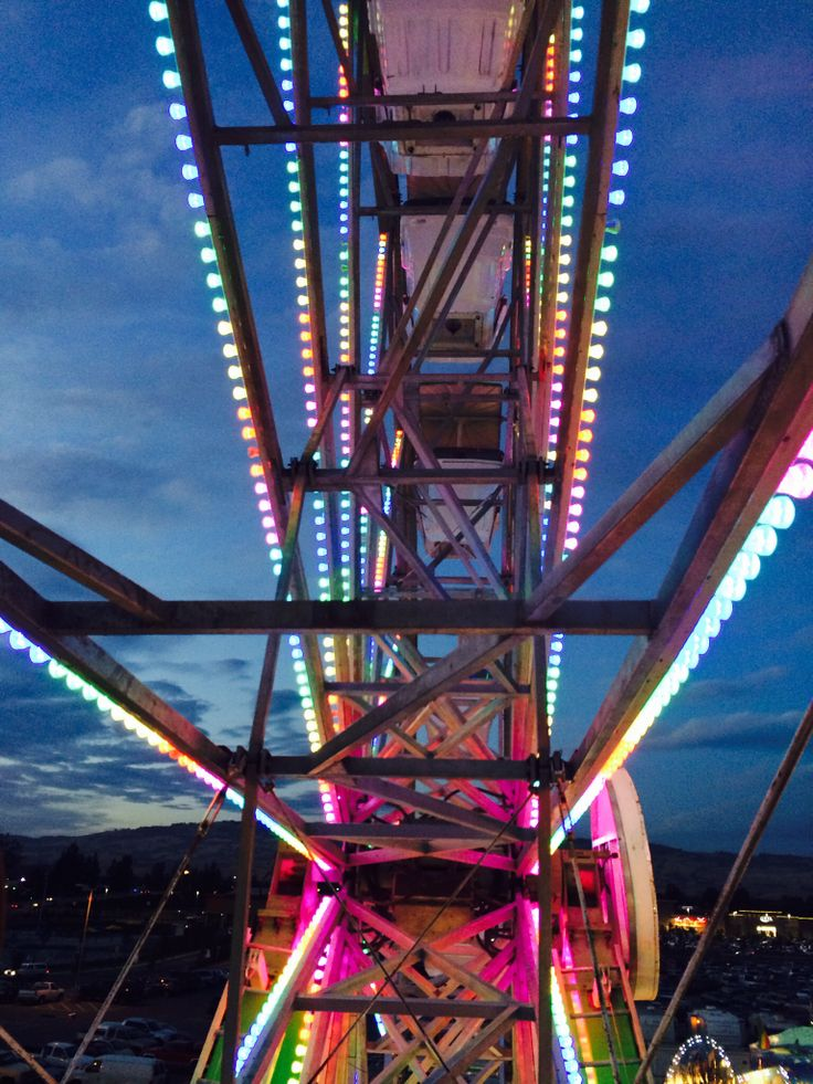 Sonoma Marin fair 2014 on the Farris wheel