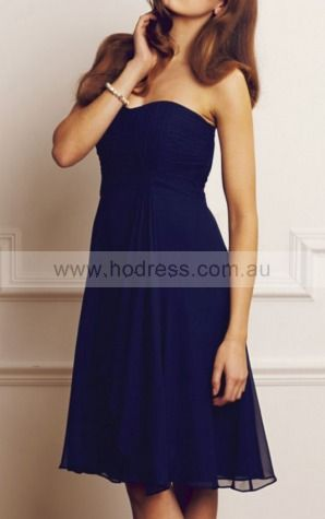 Sheath Sweetheart Knee-length Chiffon Empire Formal Dresses gt3081--Hodress