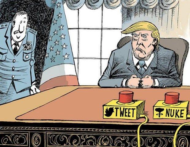 Sanat - Donald Trump'ın başkan seçilmesini anlatan karikatürler - 4 | NTV