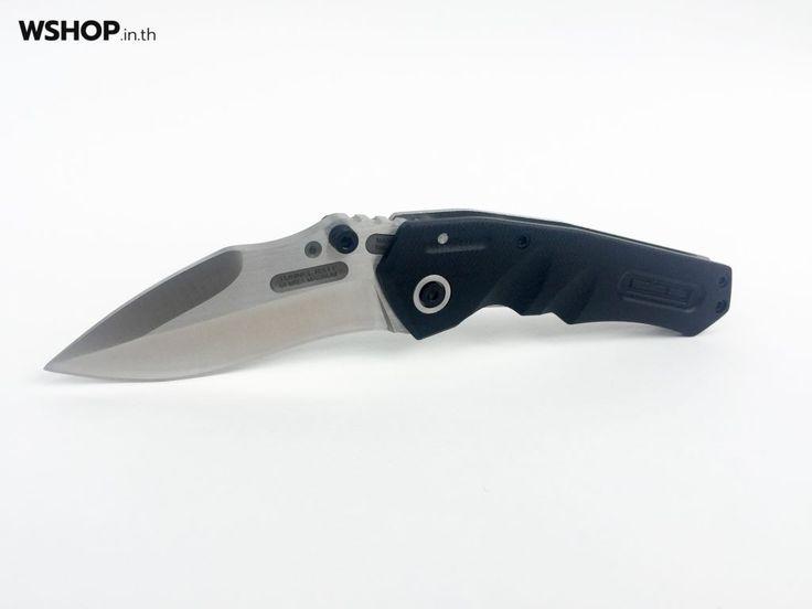 SW215 มีดพับคุณภาพสูง ใบมีดหนา ด้ามจับกระชับมือ - WSHOP.in.th