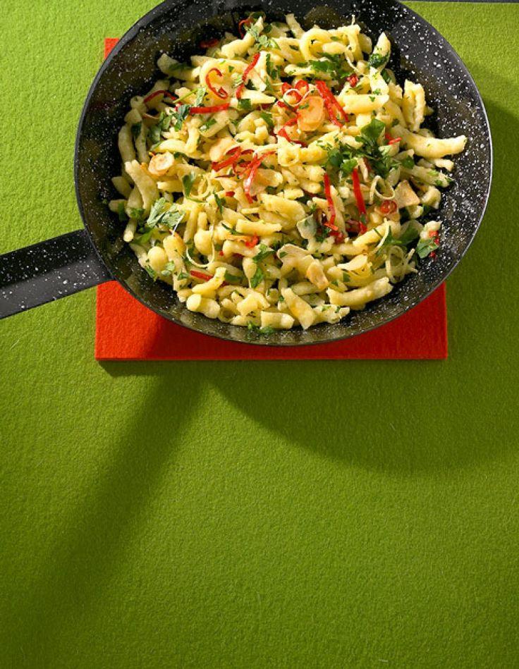 Spätzle aglio e olio Rezept - ESSEN & TRINKEN