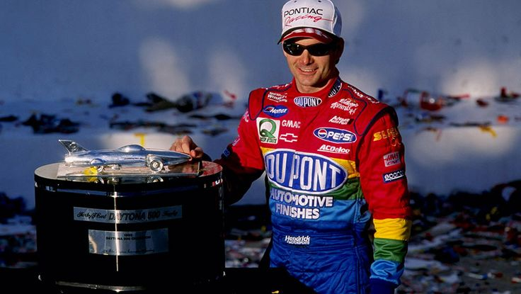 """1999"" at age 27 Jeff wins his 3rd Daytona 500  --  Jeff Gordon through the years 