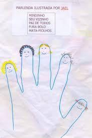 Resultado de imagem para ilustração de parlendas educação infantil