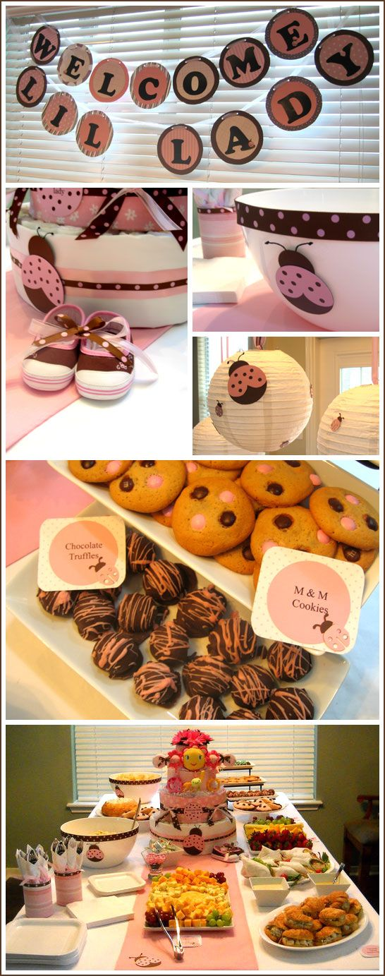 Half Baked – The Cake Blog » Real Party: Ladybug Baby Shower
