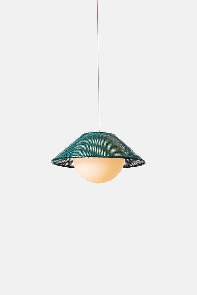 Akoya 14 Emerald Lamp Light