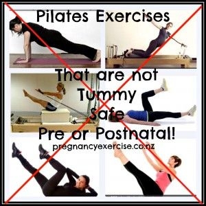 Postnatal Fitness: Yoga and Pilates are two of the most popular exercise options for pre and post pregnant women. Unfortunately some of the exercises your inst…  #pilates #diastasisrecti