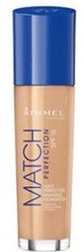 Rimmel London - Match Perfection Light Perfecting Radiance Foundation (SPF18) - 200 Soft Beige - http://buyonlinemakeup.com/rimmel/200-soft-beige-rimmel-london-match-perfection-100