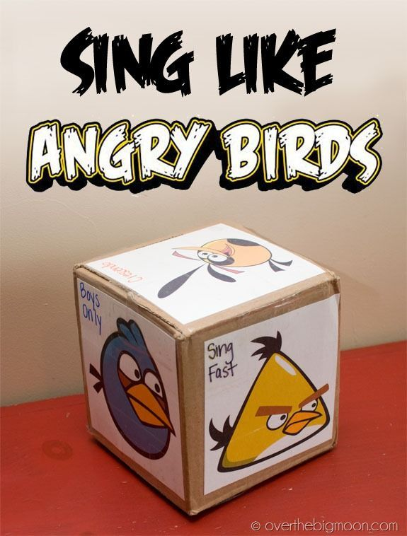 Sing Like Angry Birds!
