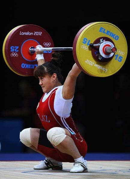 Maiya Maneza (63kg), Kazakhstan, 106kg. Girls can go big too! #calstrength