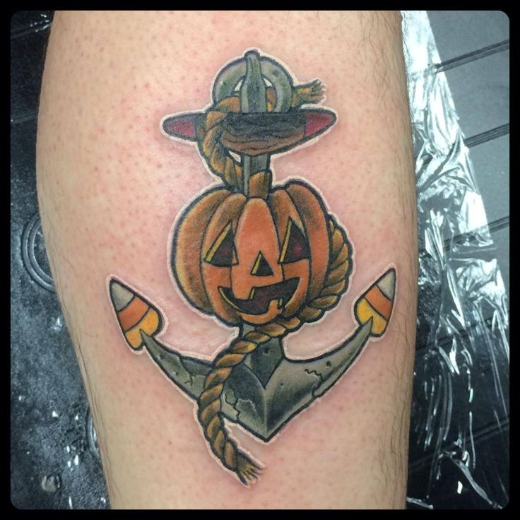76 best halloween tattoos images on pinterest halloween for Candy corn tattoo